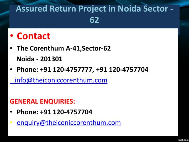 Assured Return Project in