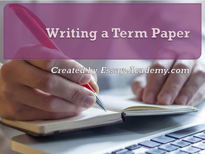 a termpaper Define term paper: a major written assignment in a school or college course representative of a student's achievement — term paper in a sentence.