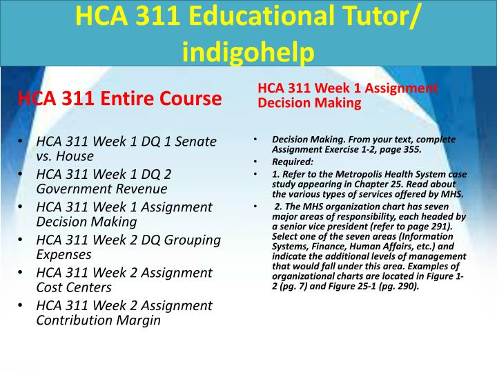 Hca 311 educational tutor indigohelp1