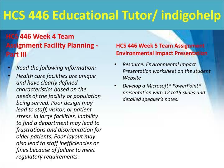 HCS 446