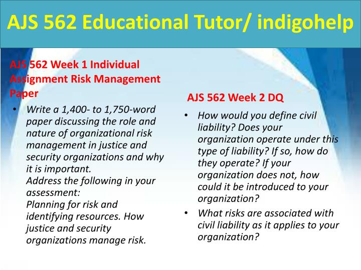 Ajs 562 educational tutor indigohelp2