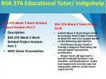 bsa 376 educational tutor indigohelp3