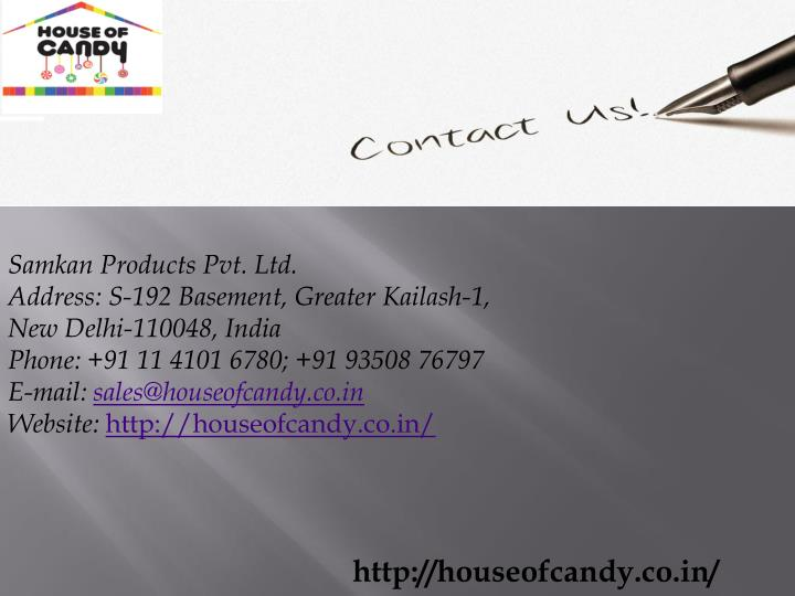 Samkan Products Pvt. Ltd.