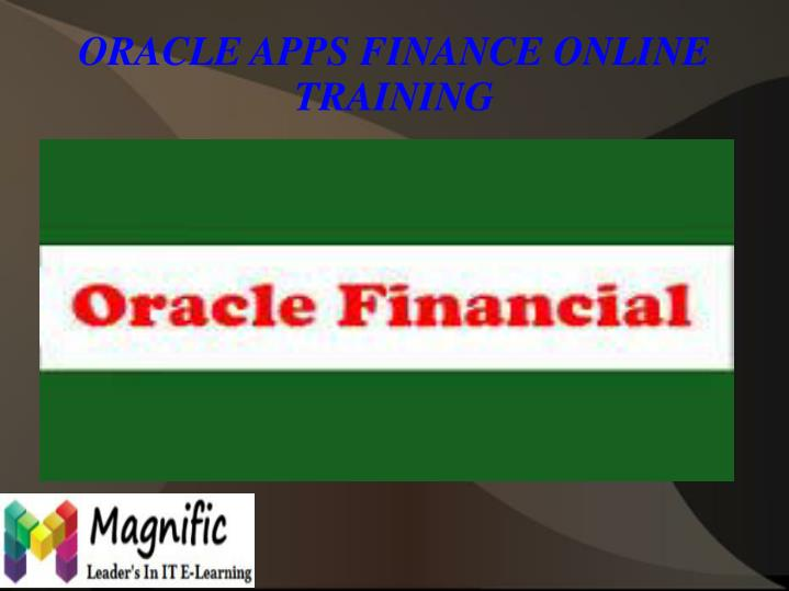 Oracle apps finance online training1