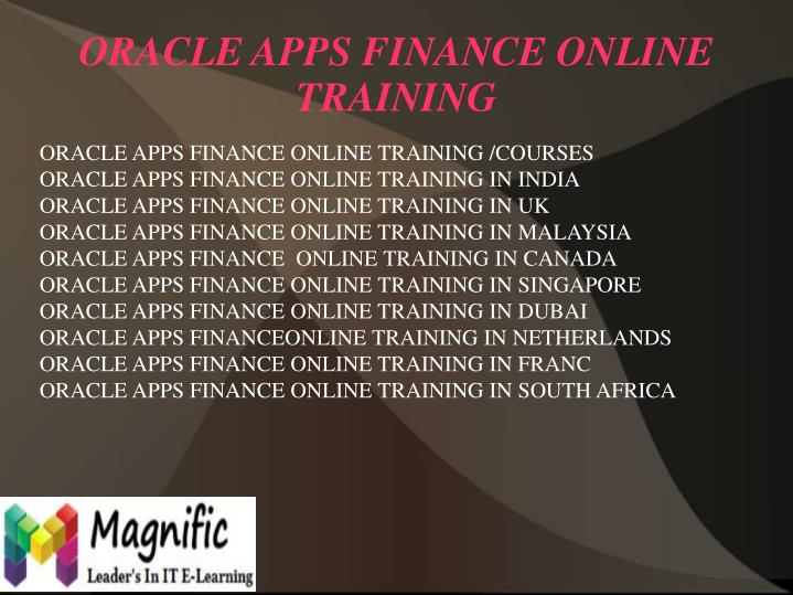 Oracle apps finance online training2