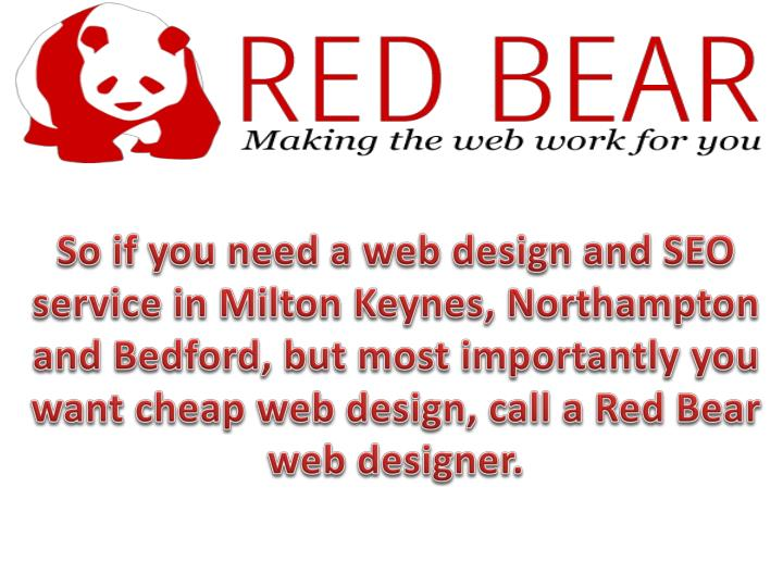 So if you need a web design