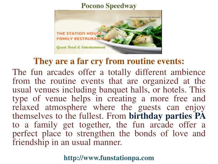 Pocono Speedway