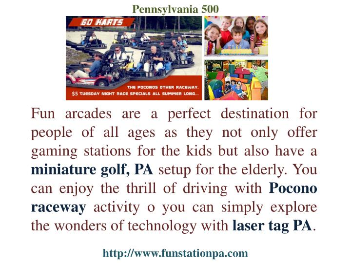 Pennsylvania 500