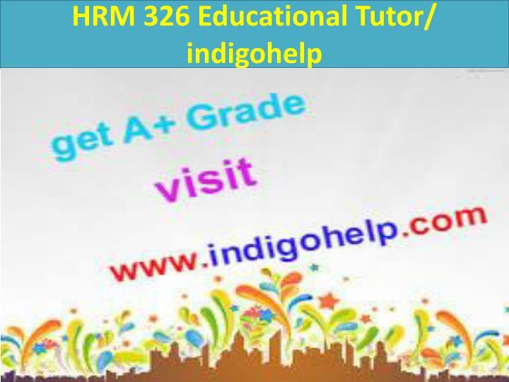 HRM 326