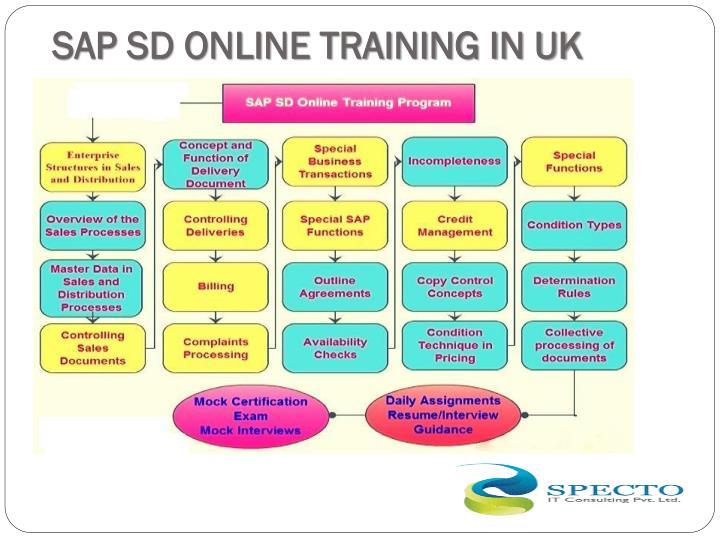 SAP SD ONLINE TRAINING IN UK