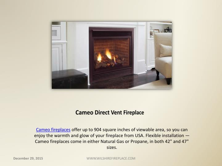 Cameo Direct Vent