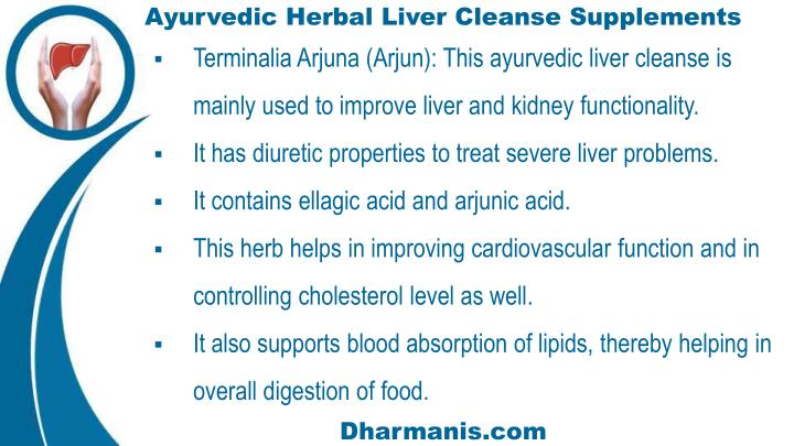Ayurvedic Herbal Liver Cleanse Supplements