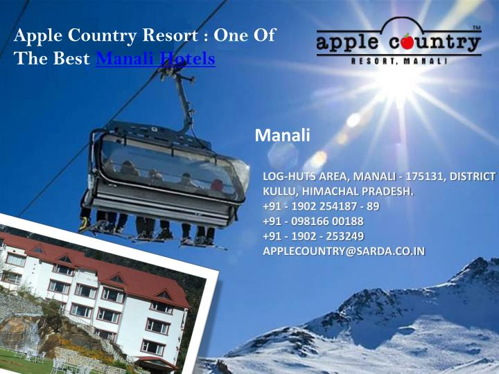 Apple Country Resort : One Of The Best