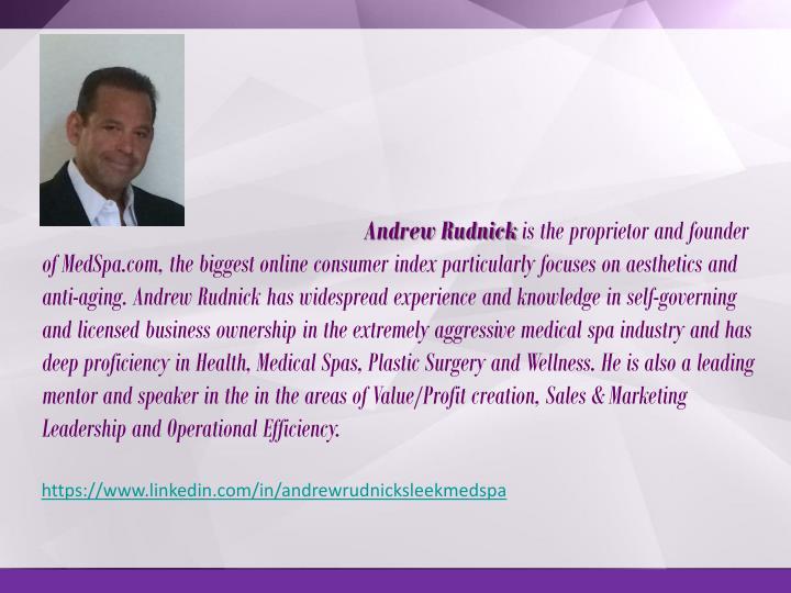 Andrew Rudnick