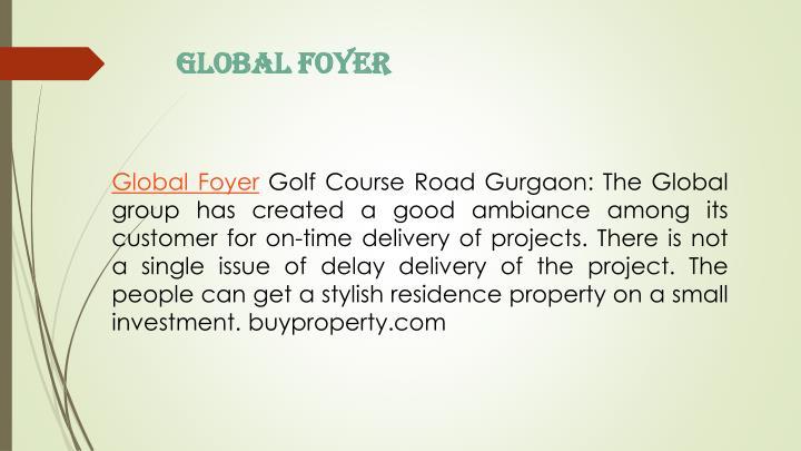Global Foyer