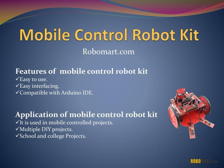 Mobile Control Robot Kit
