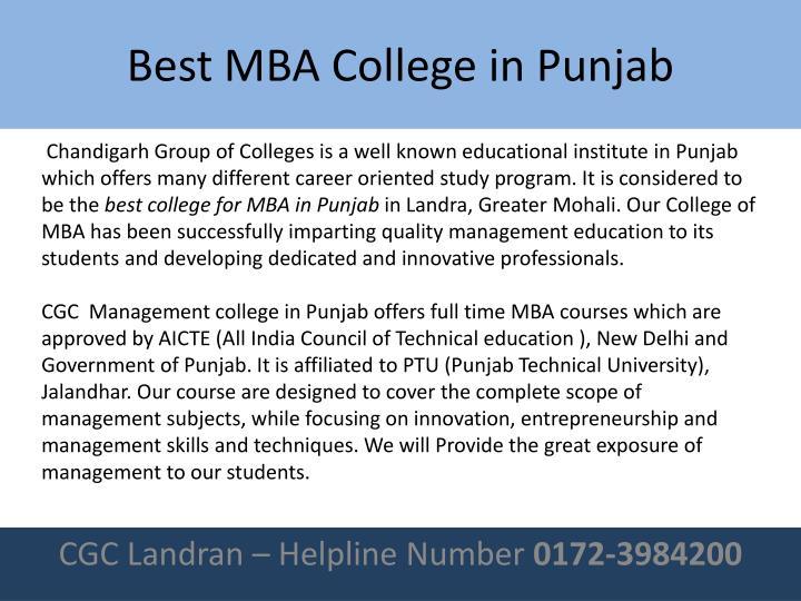 Best mba college in punjab1