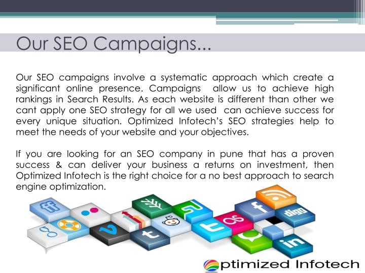 Our SEO Campaigns...