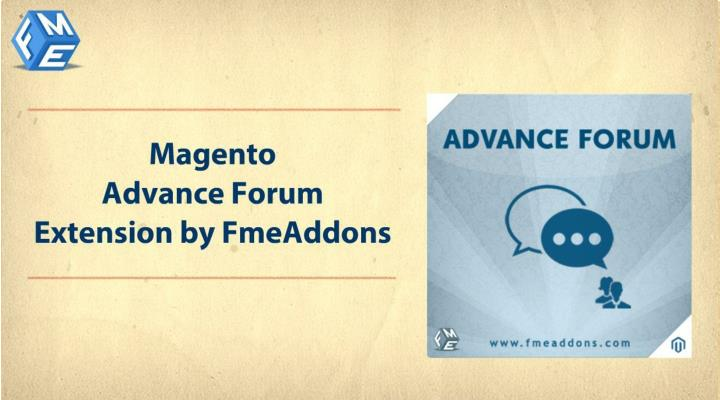 Fme forum extension integrate forum into magento