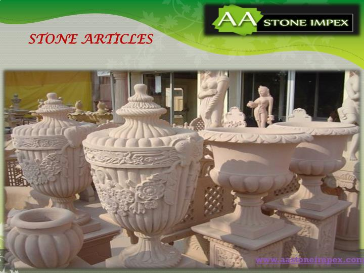 STONE ARTICLES