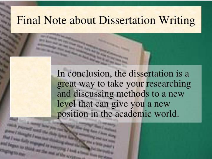 Write my dissertation what is it
