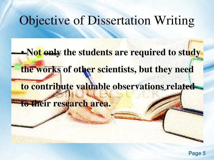 Dissertations definition