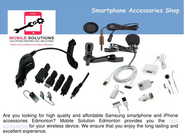 Smartphone Accessories Shop