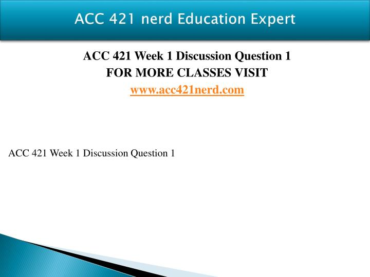 Acc 421 nerd education expert1