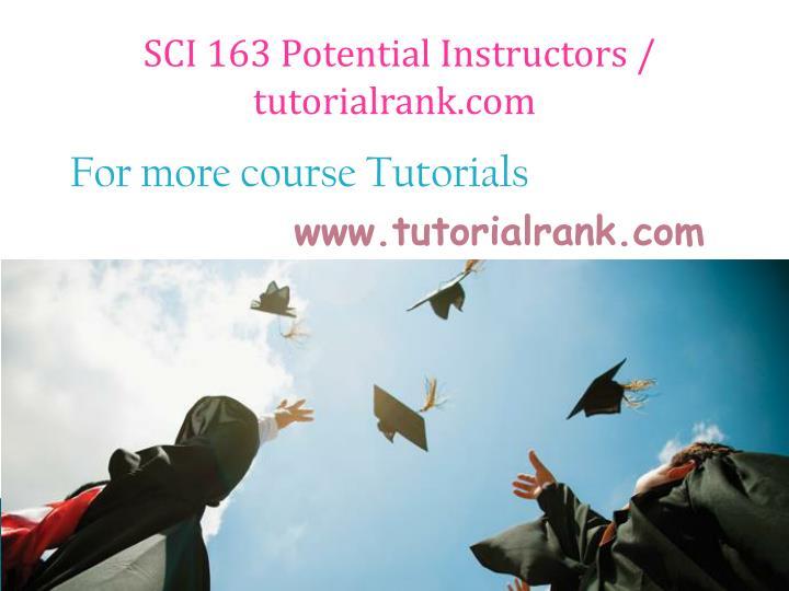 SCI 163