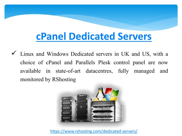 cPanel Dedicated Servers