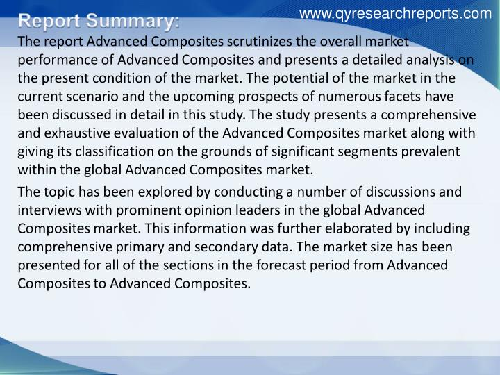 www.qyresearchreports.com