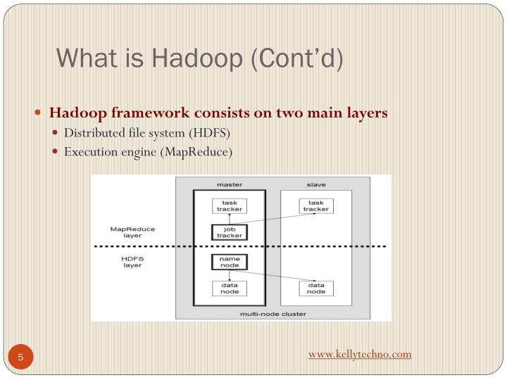 What is Hadoop (Cont'd)