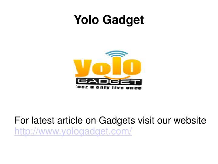 Yolo Gadget