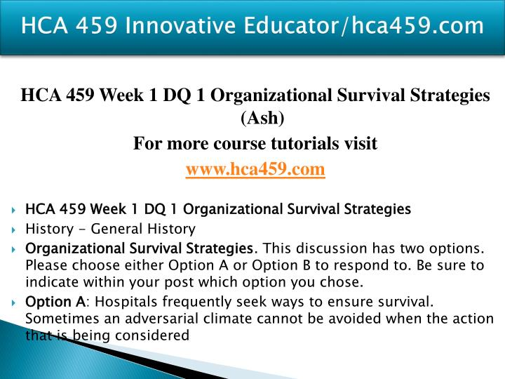 Hca 459 innovative educator hca459 com2