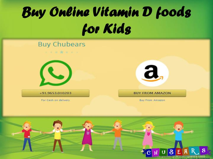 Buy Online Vitamin D foods for Kids