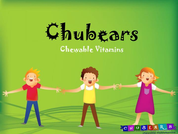 Chubears chewable vitamins