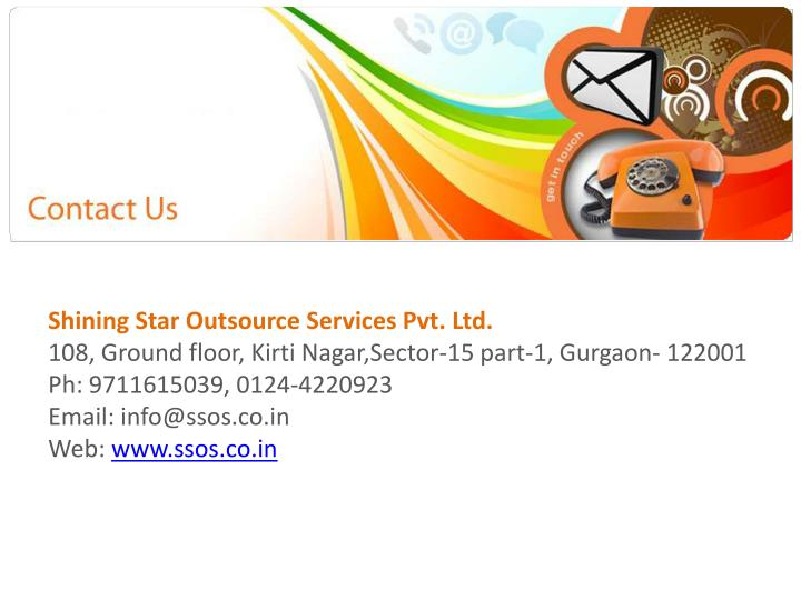 Shining Star Outsource Services Pvt. Ltd.