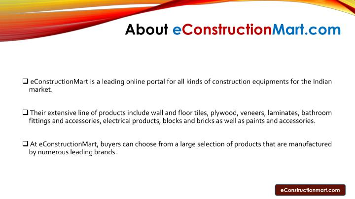 About e construction mart com