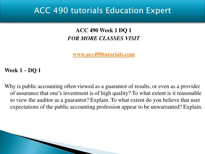 Acc 490 tutorials education expert1