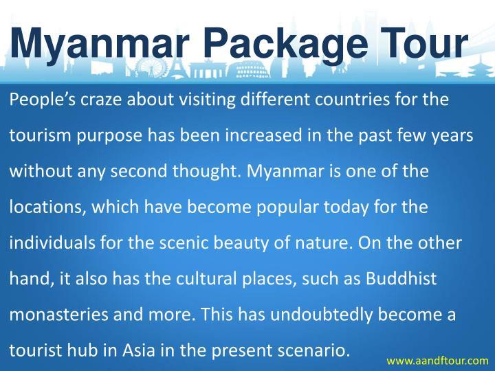 Myanmar Package Tour