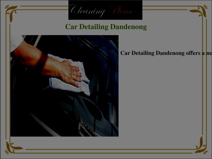 Car Detailing Dandenong