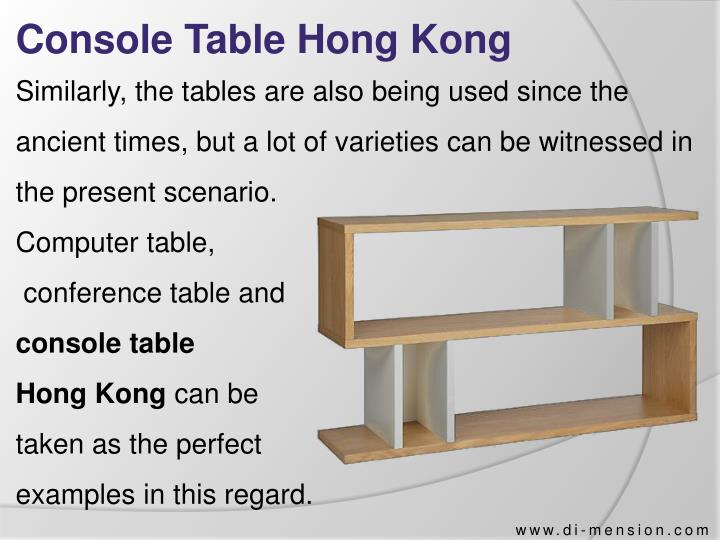 Console Table Hong Kong