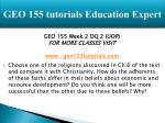 geo 155 tutorials education expert7