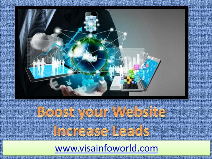 Boost your Website