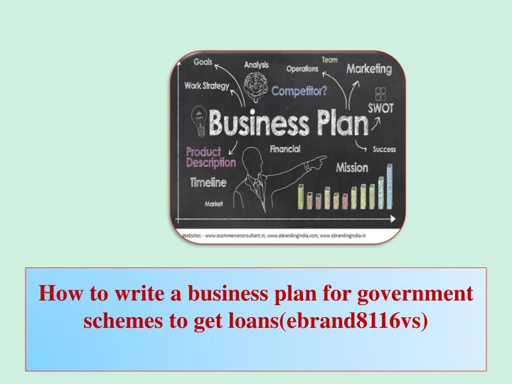 How To Make A Business Plan For A Loan