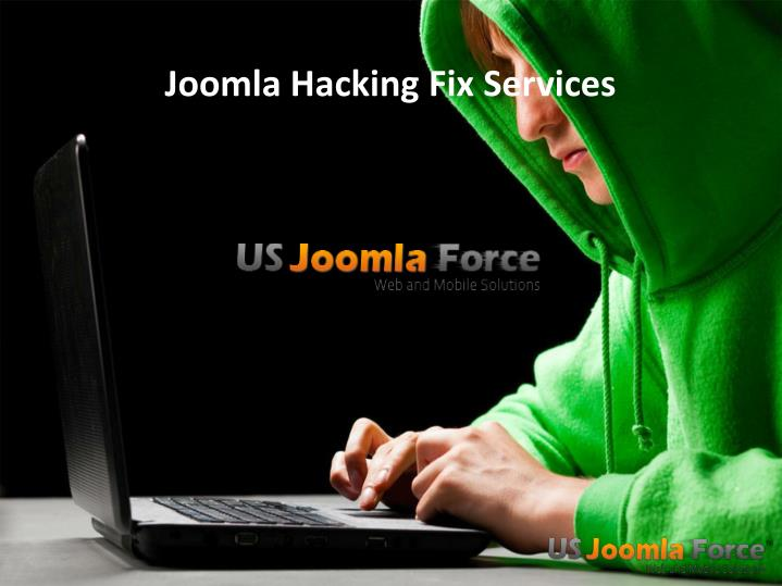 Joomla hacking fix services