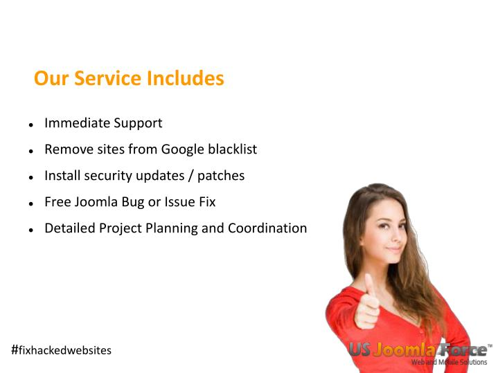 Our Service Includes