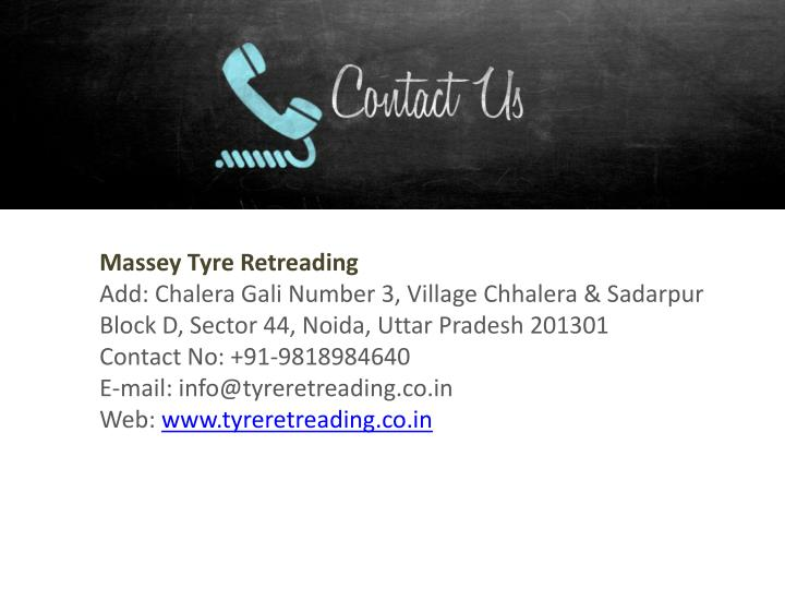 Massey Tyre Retreading