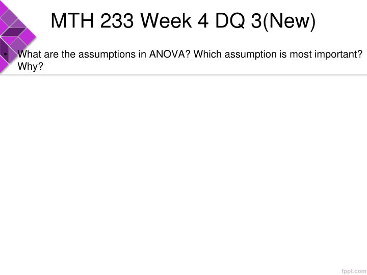 MTH 233 Week 4 DQ 3(New)