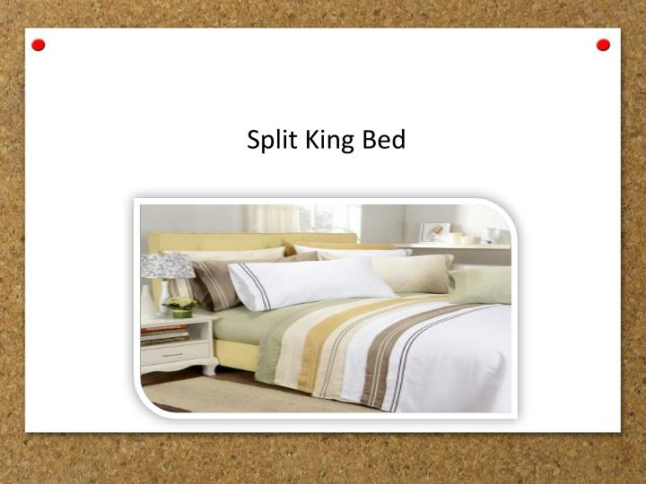 Split King Bed